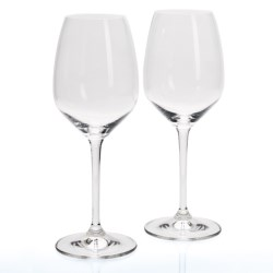 Riedel Heart to Heart Riesling Wine Glasses - Set of 2 in See Photo