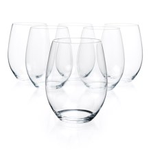 Riedel O Cabernet/Merlot Anniversary Wine Tumblers - Crystal, Set of 6 in See Photo - Overstock