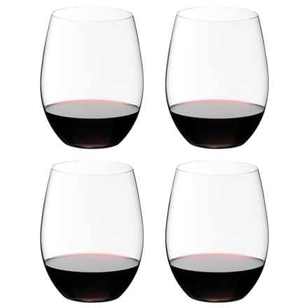 Riedel O Cabernet/Merlot Stemless Wine Glasses - Set of 4 in See Photo - Overstock