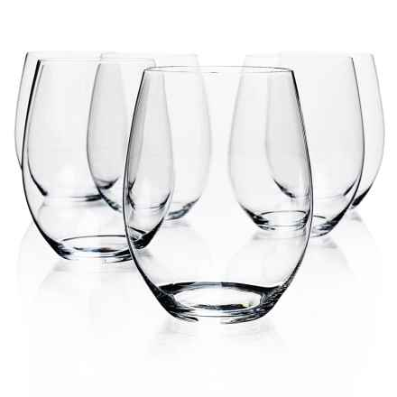 Riedel O Cabernet/Merlot Wine Tumblers - Set of 6 in See Photo - Overstock