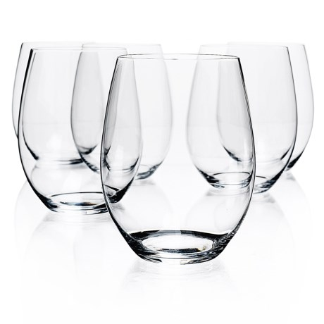 Riedel O Cabernet/Merlot Wine Tumblers Set of 6