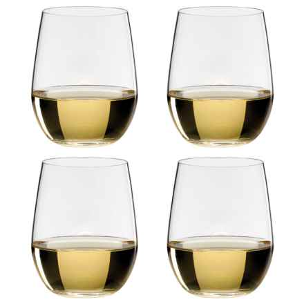 Riedel O Chardonnay/Viogner Stemless Wine Glasses - Set of 4 in See Photo - Overstock
