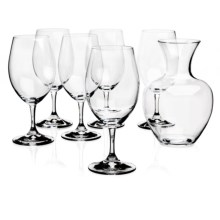 Riedel Ouverture Magnum Wine Glasses with Apple Decanter - Set of 6 Glasses in See Photo - Overstock