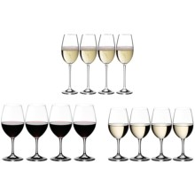 Riedel Ouverture Red, White and Champagne Wine Glasses - Set of 12 (4 of each) in See Photo - Overstock