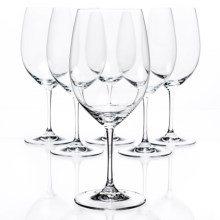 Riedel Vinum Cabernet/Merlot Wine Glasses - Crystal, Set of 6 in See Photo - Closeouts
