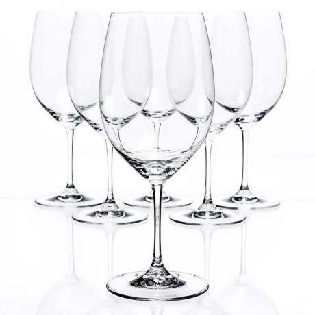 Riedel Vinum Cabernet/Merlot Wine Glasses Crystal, Set of 6