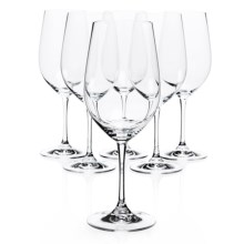Riedel Vinum Riesling/Zinfandel Wine Glasses - Crystal, Set of 6 in See Photo - Closeouts