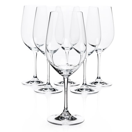 Riedel Vinum Riesling/Zinfandel Wine Glasses Crystal, Set of 6