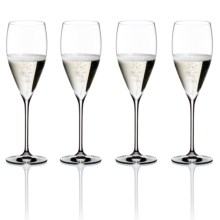 Riedel Vinum XL Champagne Flutes - Set of 4 in See Photo - Overstock