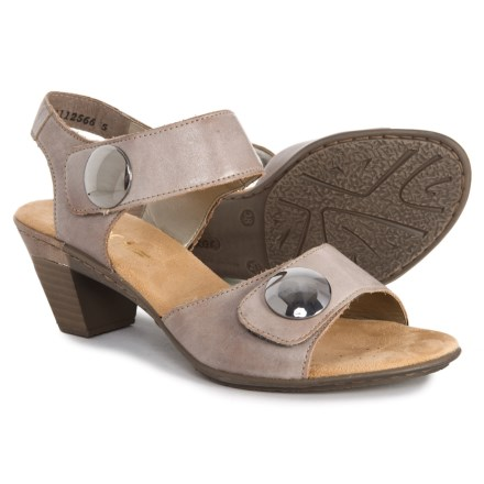 2706c4d485e Rieker Aileen 69 Sandals - Leather (For Women) in Whiteclay