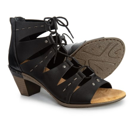 a1fe9d554594 Rieker Aileen 99 Sandals - Leather (For Women) in Black