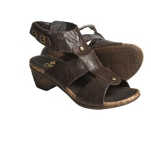 Rieker Aischa 53 Sandals - Leather (For Women) in Brown - Closeouts