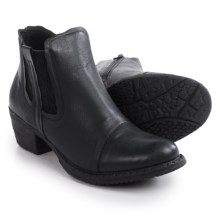 Rieker Bernadette 80 Ankle Boots - Vegan Leather (For Women) in Black - Closeouts