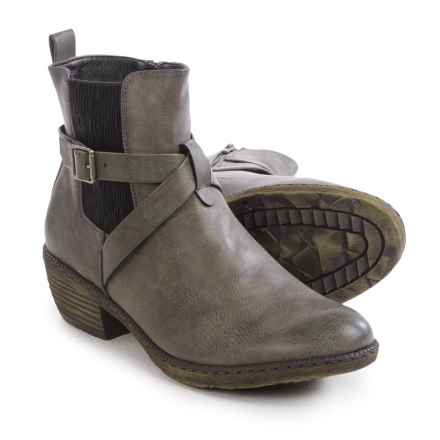 Rieker Bernadette 94 Ankle Boots - Vegan Leather (For Women) in Grey - Closeouts
