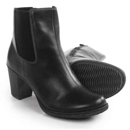 Rieker Brooke 72 Ankle Boots - Leather (For Women) in Black - Closeouts