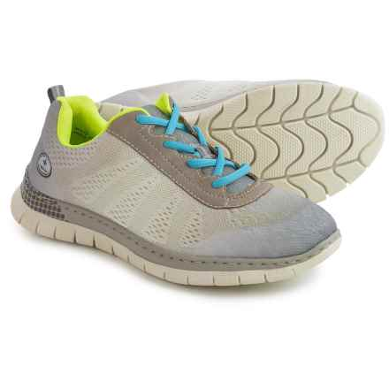 Rieker Claudia 40 Sneakers (For Women) in Grey/White/Vapor - Closeouts