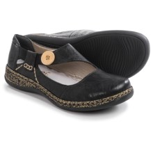 Rieker Daisy 64 Mary Jane Shoes - Leather (For Women) in Black - Closeouts