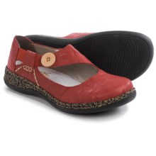 Rieker Daisy 64 Mary Jane Shoes - Leather (For Women) in Red - Closeouts