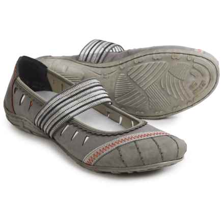 Rieker Dorina 56 Mary Jane Shoes (For Women) in Grey Combo - Closeouts