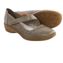 Rieker Doris 38 Mary Jane Shoes - Leather (For Women) in Beige - Closeouts