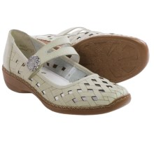Rieker Doris 75 Mary Jane Shoes - Leather (For Women) in Sport White - Closeouts