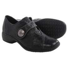 Rieker Doro 70 Shoes - Leather (For Women) in Black - Closeouts