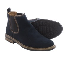 Rieker Dustin 82 Chelsea Boots - Suede (For Men) in Blue - Closeouts