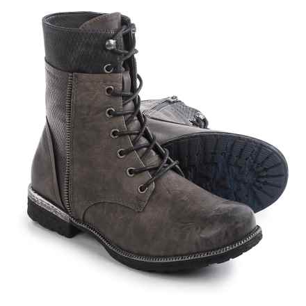 Rieker Estrella 24 Boots (For Women) in Grey - Closeouts