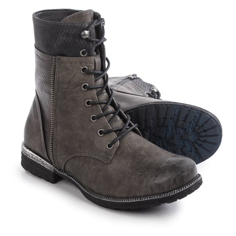 Rieker Estrella 24 Boots (For Women) in Grey