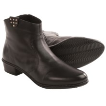 Rieker Fabiola 63 Side Zip Ankle Boots (For Women) in Black - Closeouts