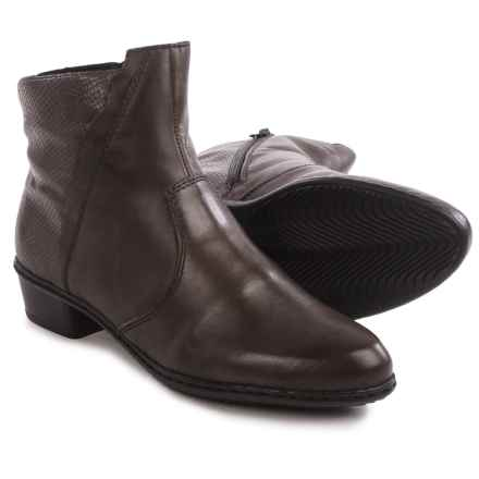 Rieker Fabiola 69 Ankle Boots - Leather (For Women) in Brown - Closeouts