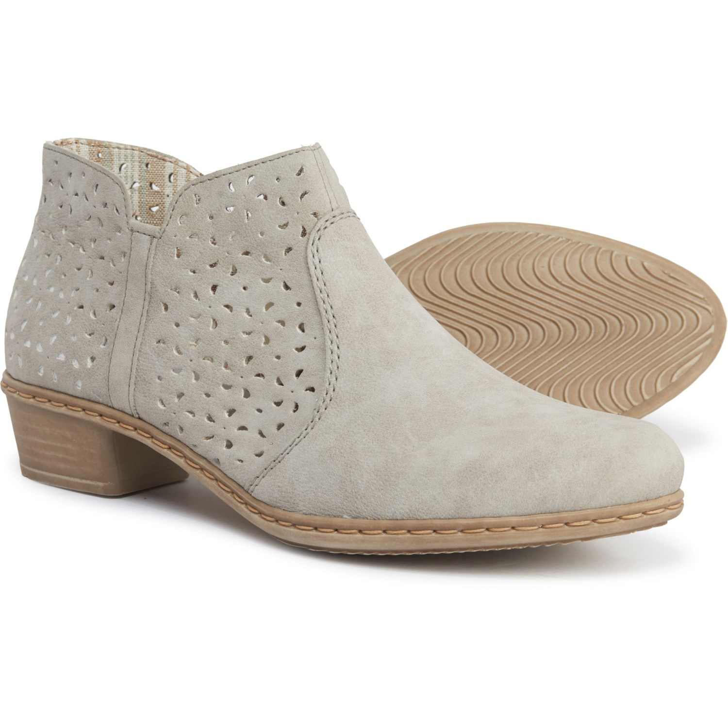details for best service amazing selection Rieker Fabiola 85 Perforated Shootie Ankle Boots (For Women ...