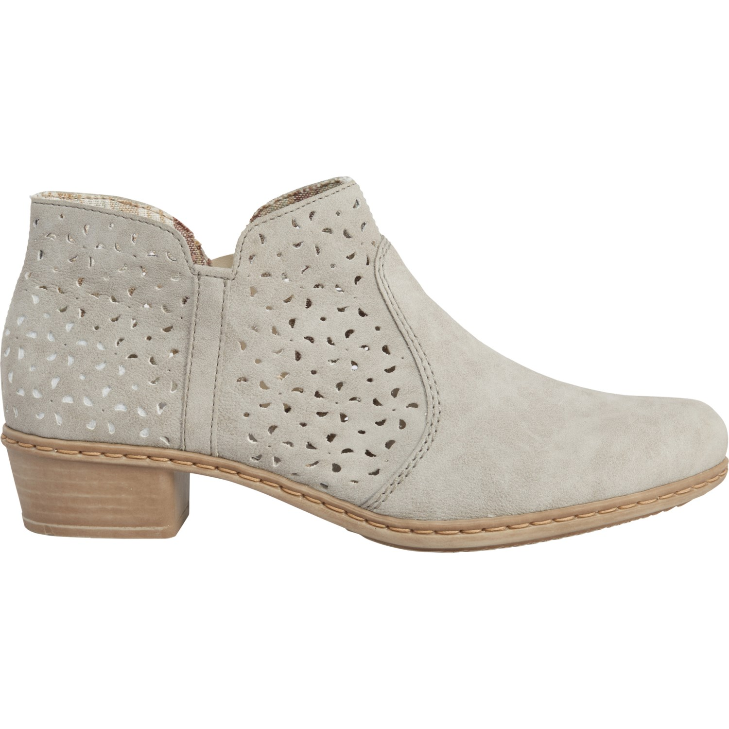 Rieker Fabiola 85 Perforated Shootie Ankle Boots (For Women)