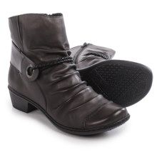 Rieker Louise 62 Ankle Boots - Leather (For Women) in Brown - Closeouts