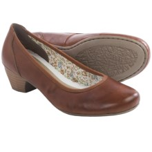 Rieker Mariah 70 Shoes - Leather, Slip-Ons (For Women) in Tan - Closeouts