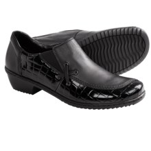 Rieker Mina Shoes - Slip-Ons (For Women) in Black - Closeouts