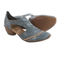 Rieker Mirjam 83 Shoes - Leather (For Women) in Dune - Closeouts