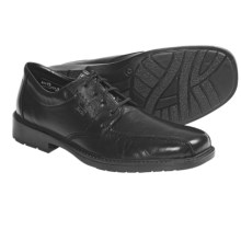Rieker Mitch Tie Shoes - Leather (For Men) in Black - Closeouts