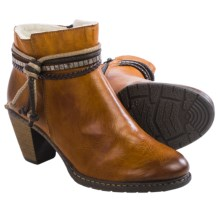 Rieker Penelope 53 Ankle Boots - Vegan Leather (For Women) in Cayenne - Closeouts