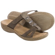 Rieker Regina 66 Sandals - Vegan Leather (For Women) in Beige - Closeouts
