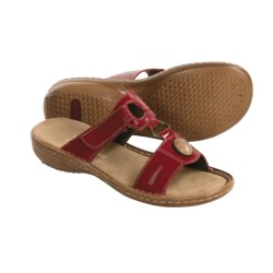Rieker Regina 84 Sandals (For Women) in Rosso