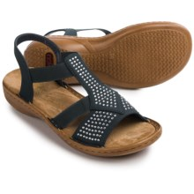 Rieker Regina Y2 Sandals (For Women) in Blue - Closeouts