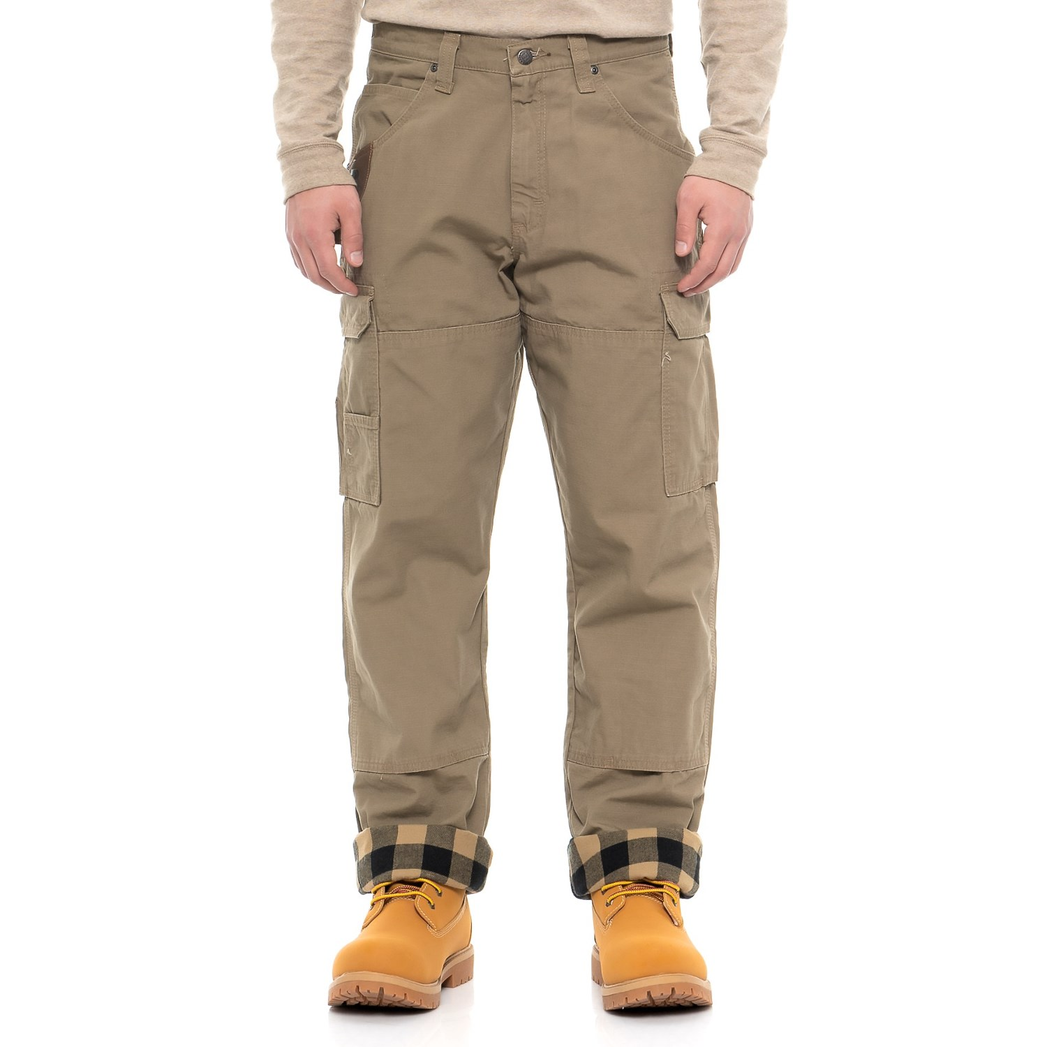 Redhead flannel lined cargo pants 8