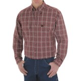 Riggs Workwear by Wrangler Foreman Plaid Work Shirt - Long Sleeve (For Men)