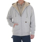 Riggs Workwear by Wrangler Zip Hooded Sweatshirt - Sherpa Lined (For Men)