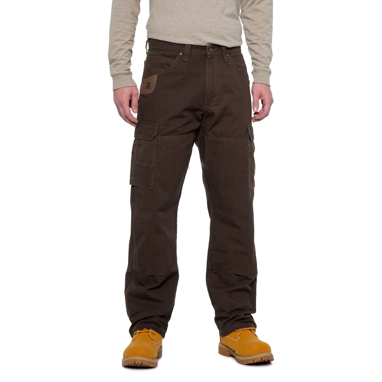 0107e84806 Riggs Workwear® Ranger Ripstop Cargo Pants (For Men) in Dark Brown ...