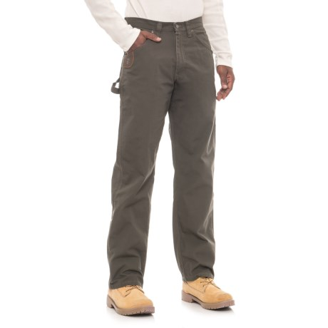 Riggs Workwear® Ripstop Carpenter Pants (For Men) in Loden