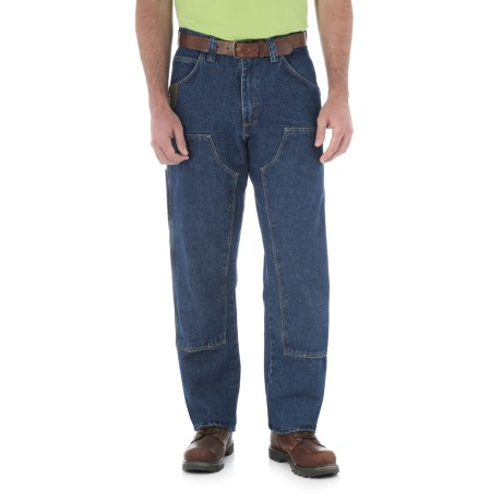 Riggs Workwear® Utility Double-Front Jeans (For Men) in Antique Indigo