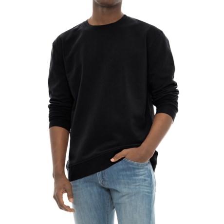 Riggs Workwear® Work Sweatshirt - Crew Neck (For Men) in Black