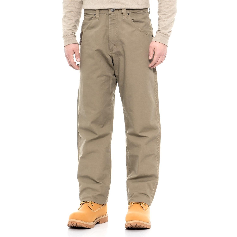 d8288c4d495f92 Riggs Wrangler Workwear® Ripstop Carpenter Pants (For Men) in Bark ...